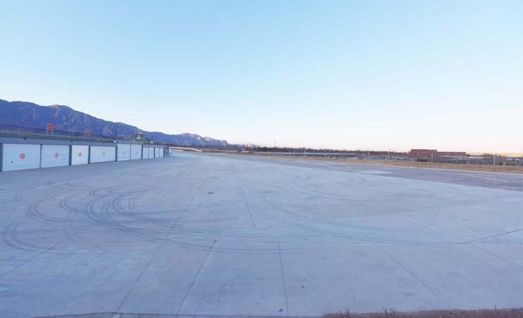 北京海淀机场试驾场地